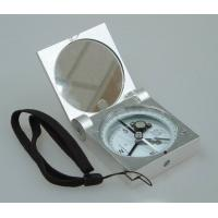 Quality Silver Color Survey Instruments' Accessories Geology Metal Handheld Compass for sale