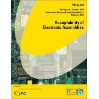 Quality IPC-A-610G Acceptability of Electronic Assemblies  PDF FILE Recent  English Chinese for sale