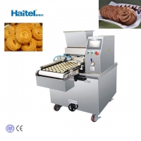 Quality 0.75KW Extruding Dough Cookies Making Machine 100kg/H for sale