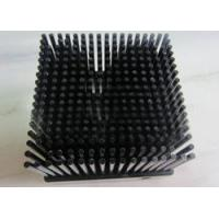 Quality Low price customized black anodized 1070 aluminum cold forging pin fin heat sink manufacturing for sale