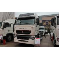 China 6x4 Howo A7 prime mover truck / camion tractor for pulling Container trailer in port on sale