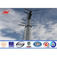 Best Transmission Line Project Electrical Power Pole 18m 10KN For Electricity Distribution wholesale