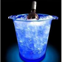 Buy cheap Oval Shape Wine Cooler LED Ice Bucket from wholesalers