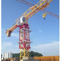 Quality construction site Topless Tower Crane with 10 Ton capacity and 60m Jib length for sale