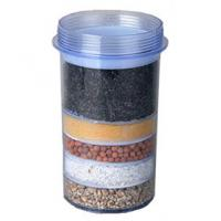 China Transparent 5 Layer Household Water Filter Cartridges For Mineral Water Pot on sale