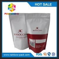 Best Stand up matte finished bags custom printed ziplock plastic bags protein bar packaging protein bar packaging wholesale