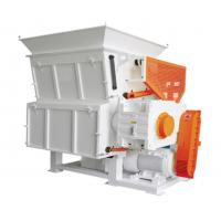 Quality Universal Plastic Recycle Machine Big Blocks Pallet Sturdy Seratted Pushing Feeder for sale