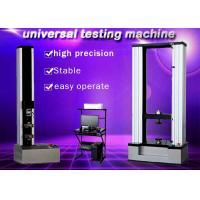 Quality 10KN Electronic Universal Testing Machine Protecting Functions Of Over Load for sale
