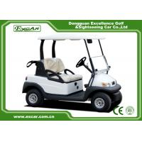 Quality CE Approved Club Car Golf Cars / Aluminum Chassis  2 Seater Electric Ca for sale