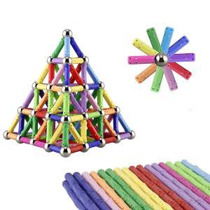 Quality Kellin Magnetic Toys 130 Pieces - Magnetic Building Sticks Building Blocks Set Educational Toys Magnetic Blocks Sticks for sale