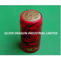 PVC SHRINKABLE WINE CAPSULE WITH PATTERN