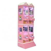 Buy cheap Playground 4 Player Arcade Toy Grabber Doll Crane Machine from wholesalers