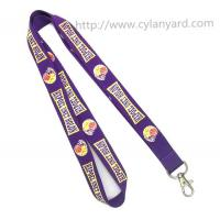 Best Promotional neck lanyards with metal clasp hook, China lanyard factory for custom lanyards wholesale
