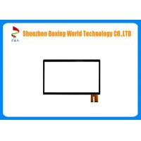 Quality Large Capacitive Touch Panel Glass Lens + Glass Sensor + Film Structure for sale