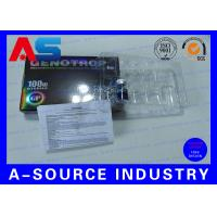 China HGH Injection 10ml Vial Boxes With Plastic Tray Paper Description SGS ISO9001 on sale