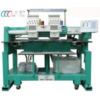 China 2 Head Baseball / Hat Tubular Embroidery Machine , 9 Needle Digital Embroidery Machine on sale