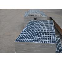 Quality 32 X 5mm Steel Walkway Grating, Flat Hot Dipped Galvanised Steel Grating for sale