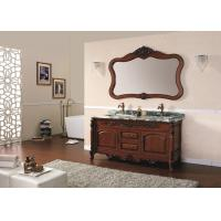 China Durable Vanity Cabinet Classic Bathroom Cabinets Classical American Oak on sale