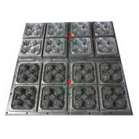 Buy 4 Cavities Molded Paper Pulp / Aluminum Cup Carrier Pulp Moluded Toolings at wholesale prices