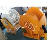 Quality Small Size Tower Crane Winch / Winch Drum with Lebus Groove or Spiral Groove for sale