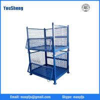 Best Logistic Roll Wire Mesh Cage Storage Collapsible Pallet Bin Used Steel Containers for Sale wholesale