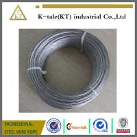 Quality 6x19+FC stainless steel cable for metal building for sale
