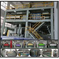 Quality High Speed PP Non Woven Fabric Making Machine compact construction 0 - 250m/min for sale