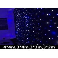 Quality AC90-240V LED Stage Backdrop Curtain Lights , Led Star Curtain Backdrop 120W for sale