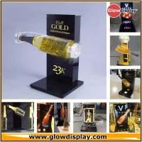 Quality Spanish Gold Champagne Display Stand Sparkling Wine Bottle Glorifier for sale