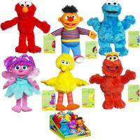 Quality Sesame street family Collection Plush Toys for sale