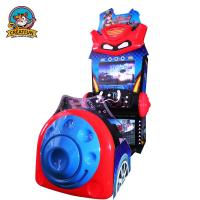 Quality Moveable Racing Arcade Machine / Coin Operated Racing Simulator Machine for sale