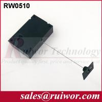 Buy Adhesive Quadrate ABS Plate Retractable Security Tether For Retail Displays at wholesale prices