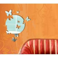 Quality CM-069 Novelty Acrylic Wall Mirror Sticker for Home Decoration for sale