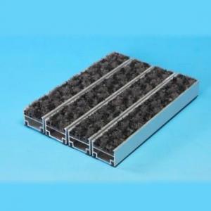 China Aluminum Entrance Mat with Nylon on sale