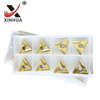 Buy cheap PVD Coated Cermet Inserts TNMG160404-VF Finishing Cutting CNC Machine Turning from wholesalers