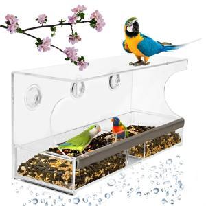 Best Premium  Window Bird Feeder - Unique Squirrel Resistant Design wholesale