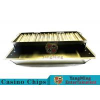China Float Lift And Down 14 Row Poker Chip Holder Suitable For 40mm Round Chips on sale