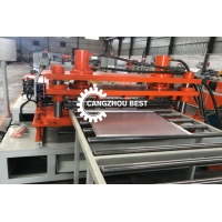 China Automatic Metal Rolling 5.5KW Shutter Door Forming Machine for sale