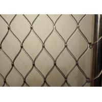 Quality Railing Netting Staircase Wire Rope Mesh Balustrades Mesh 1.0mm 1.5mm 2.0mm 3.0mm 4.0mm for sale
