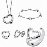 Quality Fashionable Stainless Steel Jewelry Set, Hand Made, High Polished for sale