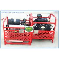 Quality Portable air compressor set, portable drilling rig, seismic shot hole service, drilling machine for sale