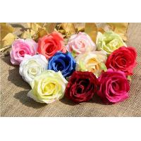 Best UVG FBL02 silk roses artificial flower head for wedding flower wall backdrop use wholesale