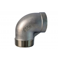 Quality ISO 9001 Cast Iron 90 Bend Pipe Fitting , 150LB Carbon Steel Socket Weld Fittings for sale