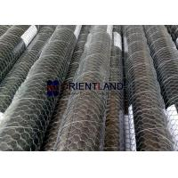 Quality Steel Woven Stucco Wire Mesh , Chicken Yard Netting Firm Structure Anti Corrosion for sale