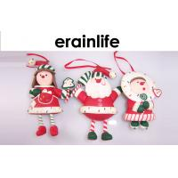 Quality Hanging Christmas Decoration Accessories Santa Claus / Mini Siam for sale