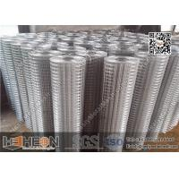 Quality 1 hole Hot Dipped Galvanised Welded Wire Mesh Roll for sale