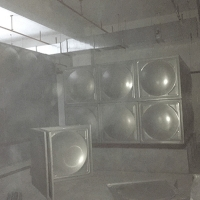 China 3mm Panel Assemble SUS304 5000M3 Sectional Water Storage Tanks for sale