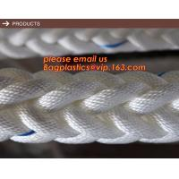 Quality 12-ply mooring ship rope used ship rope, 8mm polypropylene rope 8-ply mooring ship rope used ship rope for sale
