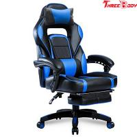 Quality PU Leather Executive Racing Office Chair Ergonomic Headrest High Density Foam Seat for sale