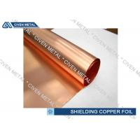 Quality Single - Shiny ED Copper Foil For Shielding With Maximum Width 1290mm for sale